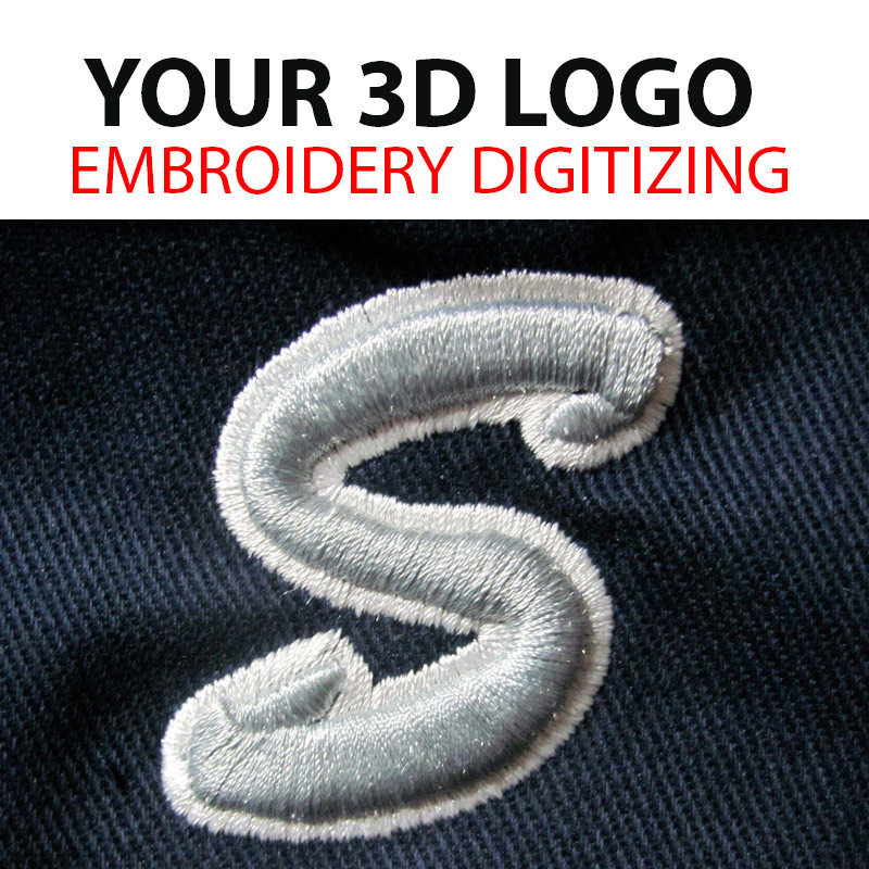 Digitizing Services From 5 To 20 Embroidery Digitizer London